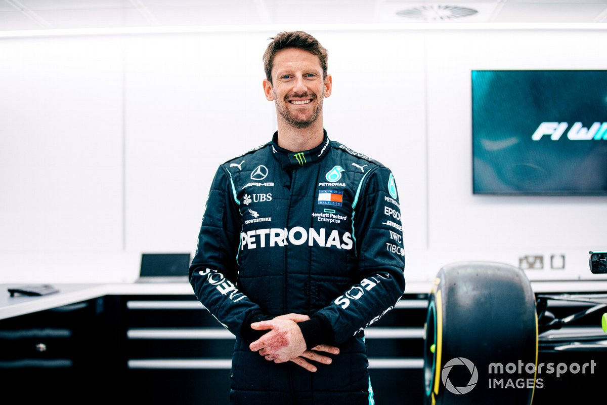 Romain Grosjean, Mercedes