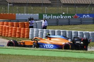 Мартин Брандл, комментатор Sky TV, Ландо Норрис, McLaren MCL35M