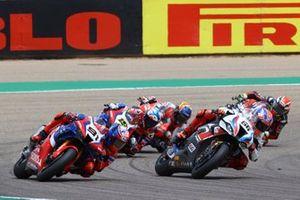 Leon Haslam, Team HRC, Tom Sykes, BMW Motorrad WorldSBK Team