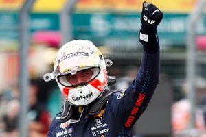 Обладатель поула Макс Ферстаппен, Red Bull Racing