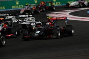 Oliver Rasmussen, HWA Racelab, leads Lorenzo Colombo, Campos Racing