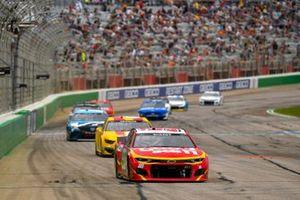 Daniel Suarez, TrackHouse Racing, Chevrolet Camaro Good Sam - Autism Awareness