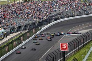Romain Grosjean, Dale Coyne Racing with RWR Honda,