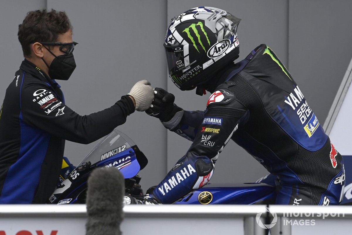 Segundo puesto Maverick Viñales, Yamaha Factory Racing