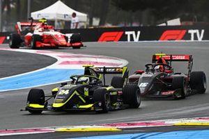 Kaylen Frederick, Carlin, Oliver Rasmussen, HWA Racelab, Arthur Leclerc, Prema Racing