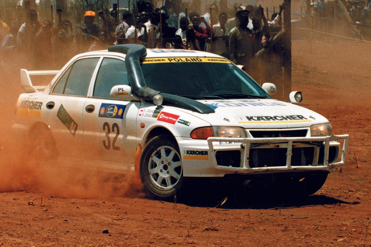Sobiesław Zasada, Rally Safari 1997