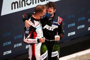 Podio: Nico Müller, Team Rosberg, Kelvin van der Linde, Abt Sportsline