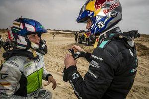 Jamie Chadwick, Veloce Racing and Johan Kristoffersson, Rosberg X Racing
