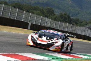#88 LP Racing, Lamborghini Huracan GT3 Evo: Pietro Perolini, Angelo Negro, Lorenzo Veglia