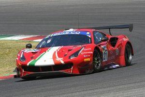 #21 AF Corse, Ferrari 488 GT3 Evo: Simon Mann, Matteo Cressoni