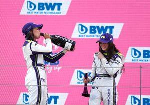 Jamie Chadwick, 1st position, and Irina Sidorkova, 2nd position