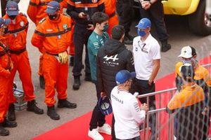 Lance Stroll, Aston Martin Mick Schumacher, Haas