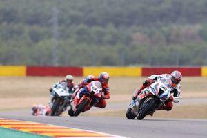 Tom Sykes, BMW Motorrad WorldSBK Team, Leon Haslam, Team HRC