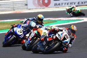 Michael van der Mark, BMW Motorrad WorldSBK Team, Axel Bassani, Motocorsa Racing