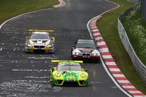 #911 Manthey Racing Porsche 911 GT3 R: Matteo Cairoli, Lars Kern, Michael Christensen, Kevin Estre