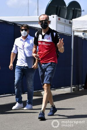 Robert Kubica, Test and Reserve Driver, Alfa Romeo Racing arrives