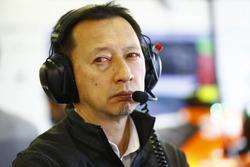 Yusuke Hasegawa, jefe de Honda F1