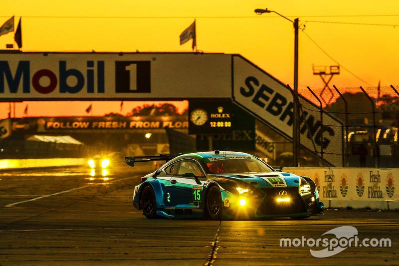 13. GTD: #15 3GT Racing, Lexus RCF GT3