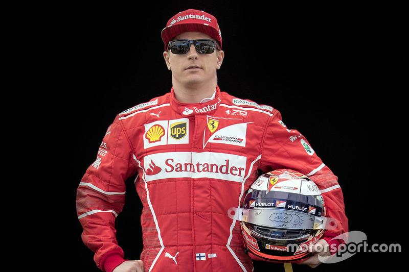 Kimi Raikkonen, Ferrari  (Contrato hasta final de 2018)
