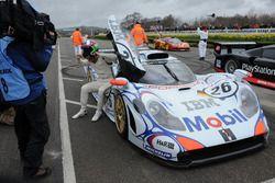 GT1 Demonstration, Dario Franchitti, Porsche