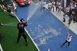 Podium: Attila Tassi, M1RA, Honda Civic TCR