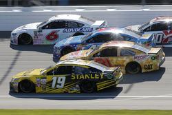 Daniel Suárez, Joe Gibbs Racing Toyota Ryan Newman, Richard Childress Racing Chevrolet Trevor Bayne,