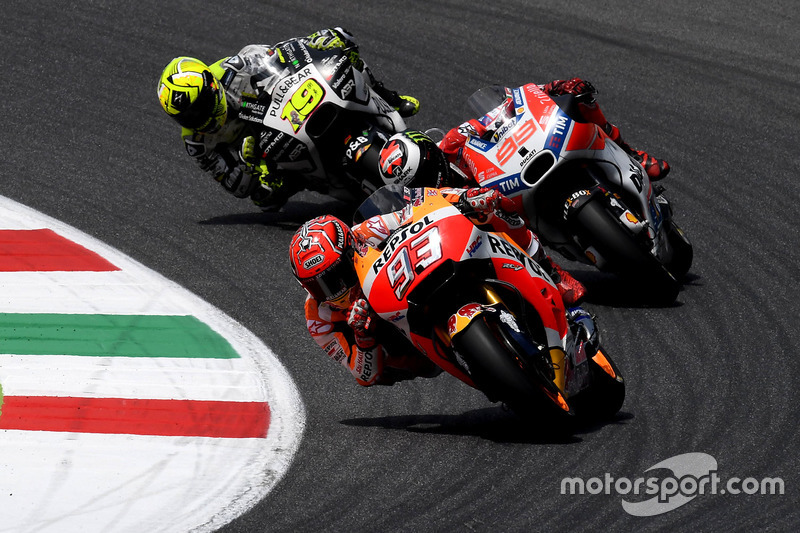 Márquez, sexto, se descuelga del campeonato