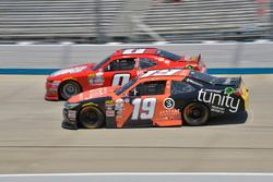 Garrett Smithley, JD Motorsports Chevrolet, Matt Tifft, Joe Gibbs Racing Toyota