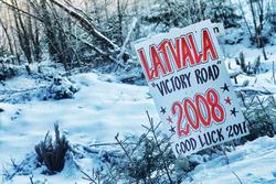 Bord voor Jari-Matti Latvala, Miikka Anttila, Toyota Yaris WRC, Toyota Racing
