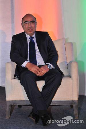 Akbar Ebrahim, FMSCI president