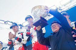 Koei Saga winnaars Jari-Matti Latvala, Miikka Anttila, Toyota Yaris WRC, Toyota Racing
