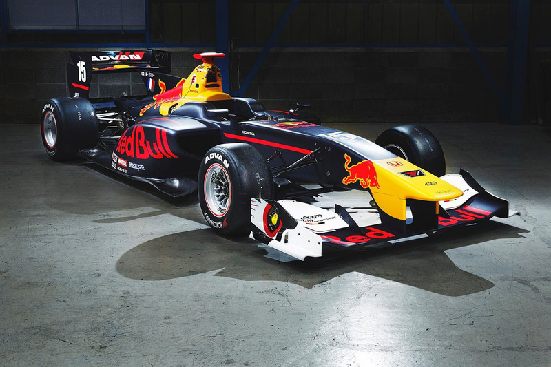 La voiture de Pierre Gasly, Team Mugen