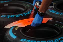 Pirelli-Reifen werden markiert
