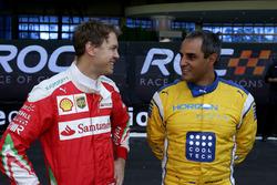 Sebastian Vettel und Juan Pablo Montoya