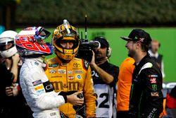 Jenson Button, Kyle Busch en Kurt Busch