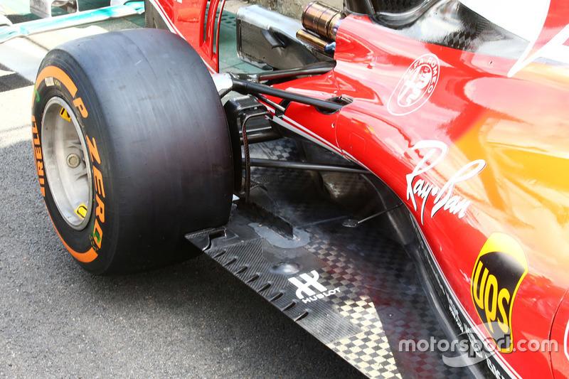 Ferrari SF16-H: Unterboden, Detail