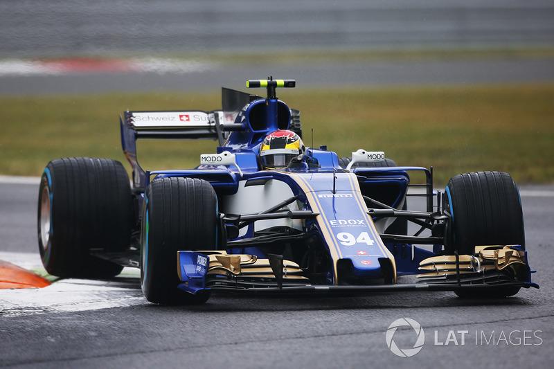 16. Паскаль Верляйн, Sauber C36 - 5