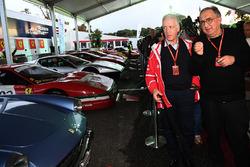 Sergio Marchionne, CEO FIAT, Piero Lardi Ferrari, Ferrari Vice President at Ferrari 70th Anniversary