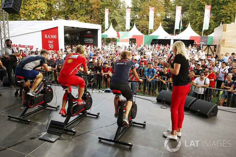 Fitness mücadelesi, F1 Fanzone