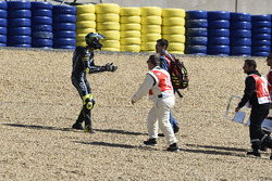 Nicolo Bulega, Sky Racing Team VR46, après une grosse chute collective