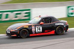 #74 S.A.C. Racing Mazda MX-5: Matthew Fassnacht