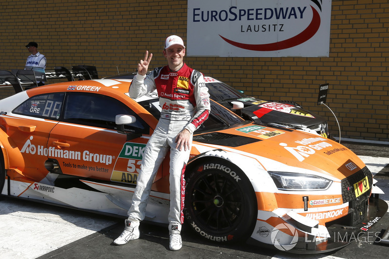 Race winner Jamie Green, Audi Sport Team Rosberg, Audi RS 5 DTM