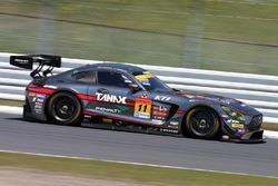 #11 Gainer Mercedes SLS AMG GT3: Katsuyuki Hiranaka, Bjorn Wirdheim