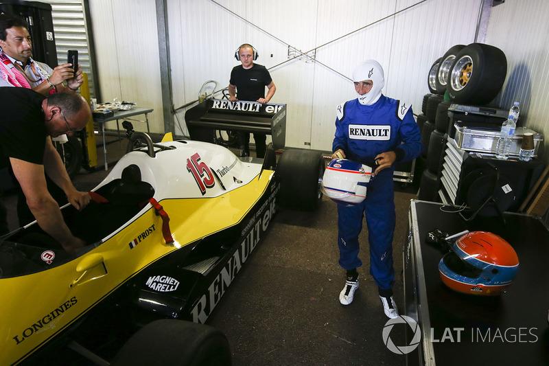 Ален Прост и Renault Sport F1 Team RE40