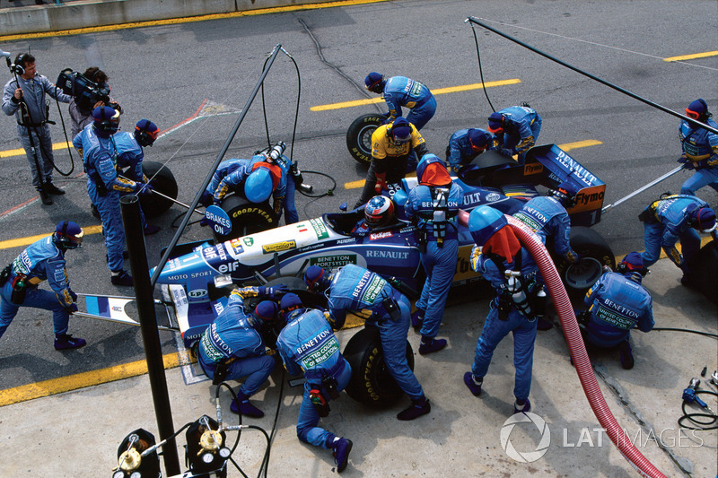 1995 Canadian GP, Benetton B195