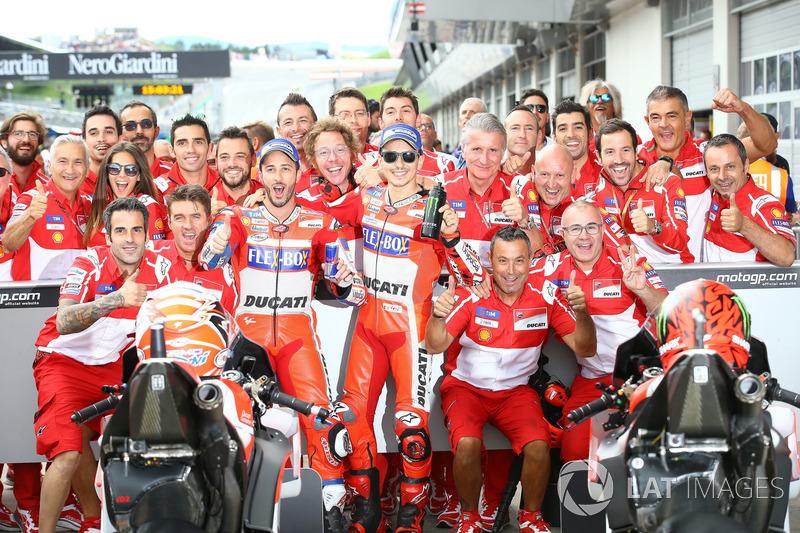Андреа Довіціозо, Ducati Team, Хорхе Лоренсо, Ducati Team