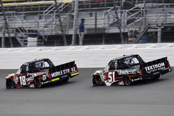 Noah Gragson, Kyle Busch Motorsports Toyota and Kyle Busch, Kyle Busch Motorsports Toyota