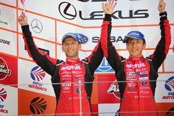 Podium GT500: second place #23 Nismo Nissan GT-R Nismo GT3: Tsugio Matsuda, Ronnie Quintarelli