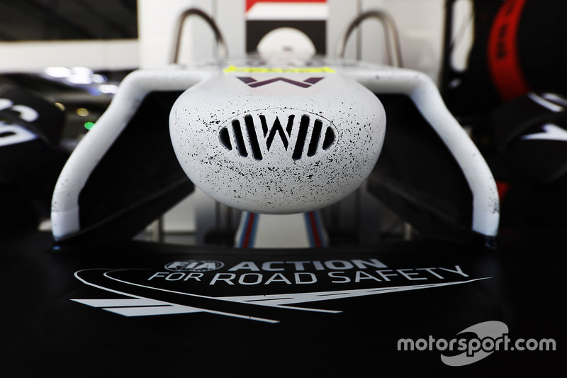 The nose of the Williams FW40