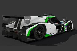 #20 Craft-Bamboo Racing Ligier JS P3: Greg Taylor, Alex Tagliani